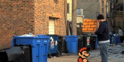 """La versión de Matthew Dominick de """"Super Mario 3"""" Foto:Dani García"""