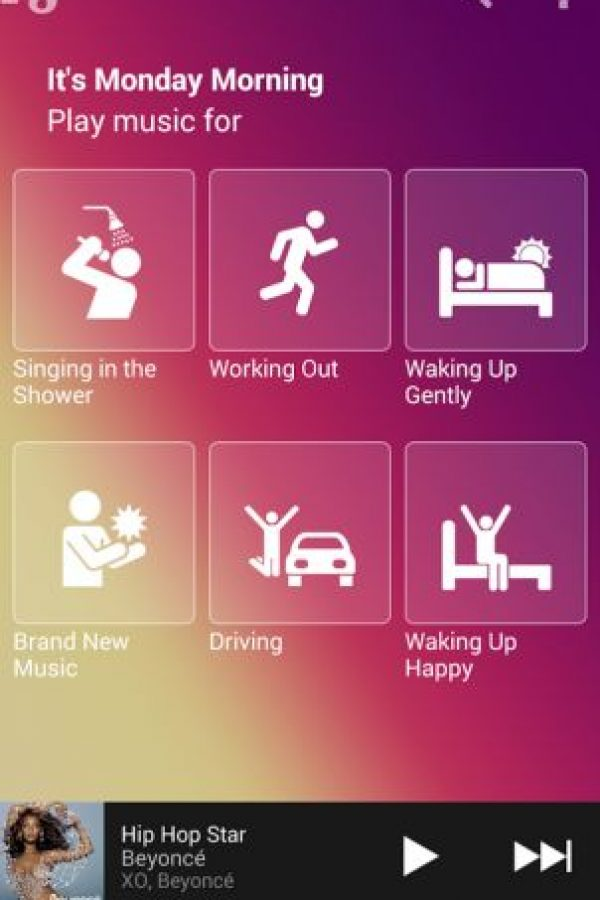Songza podría ser tomada como modelo para la nueva versión de Spotify Foto:Songza