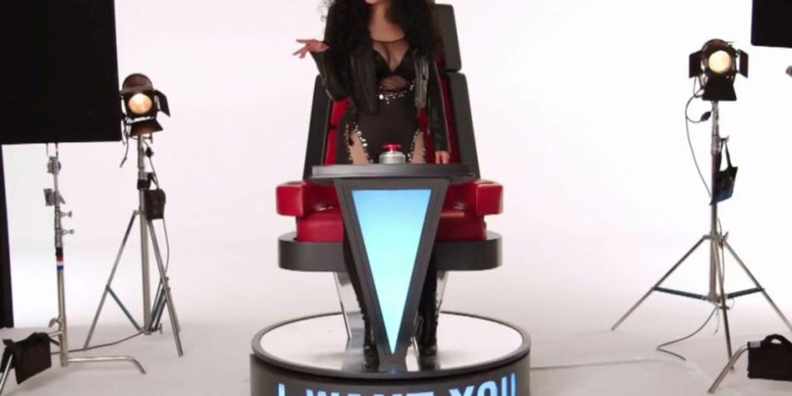 Como Cher Foto:The Voice