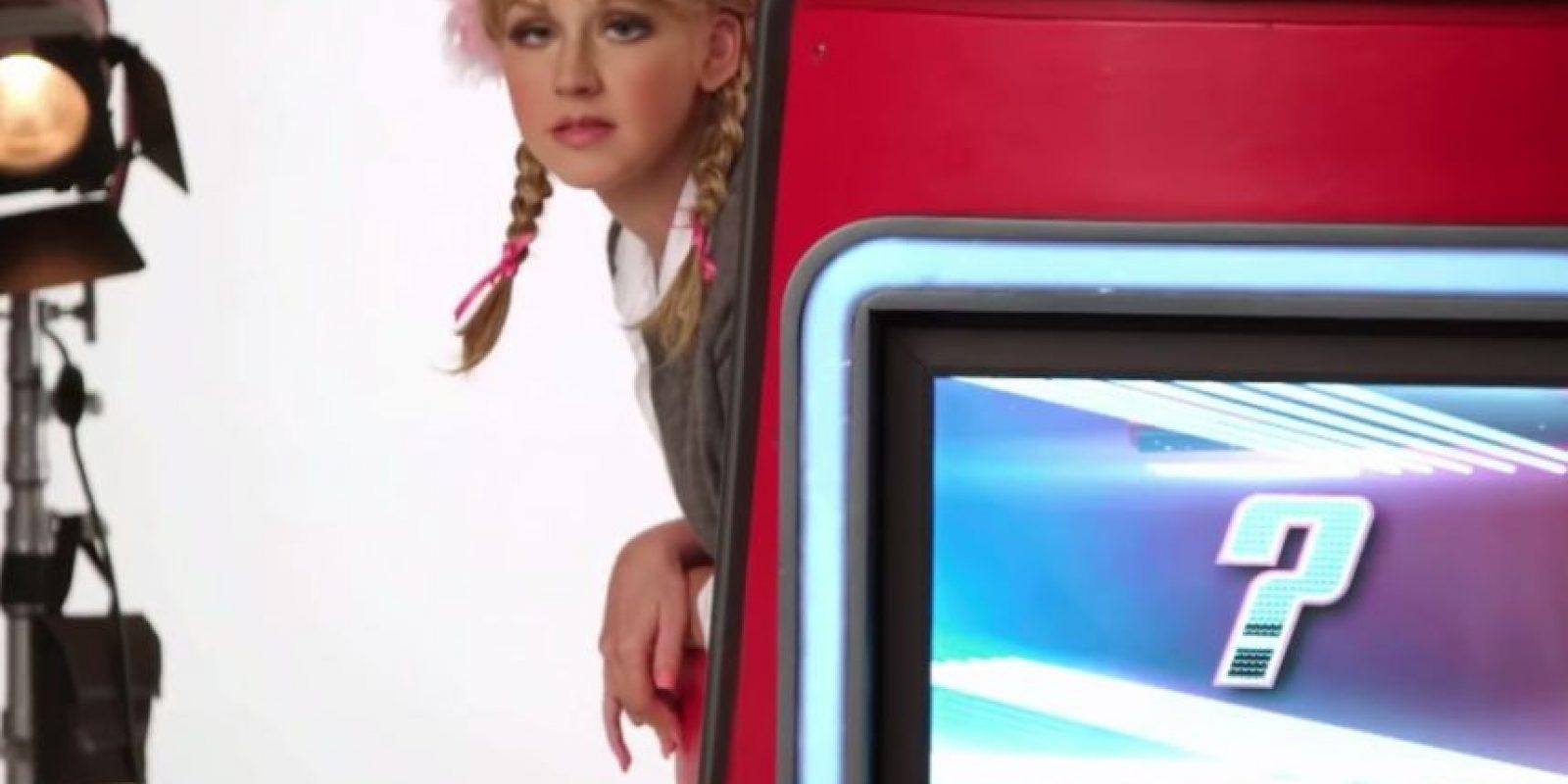 Aquí como Britney Spears Foto:The Voice