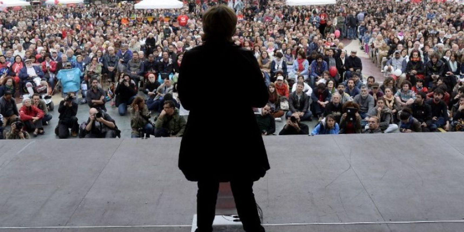 De acuerdo a las redes sociales, el PP es el partido con mayor protagonismo: concentra el 41% de las conversaciones relacionadas con la política, seguido de Podemos (20%) y Ciudadanos (17%). Foto:AFP