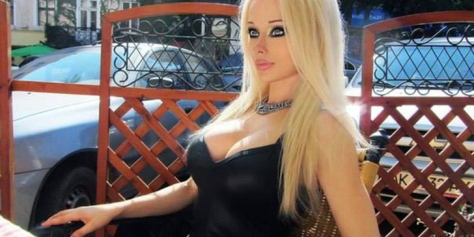 Es ucraniana y tiene 22 años. Foto:vía Facebook/Valeria Lukyanova