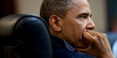 La Casa Blanca negó esa versión y afirmó que el trabajo lo hizo sola. Foto:Getty Images