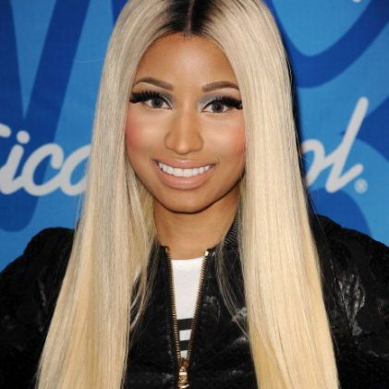 Nicki Minaj Foto: vía Getty Images