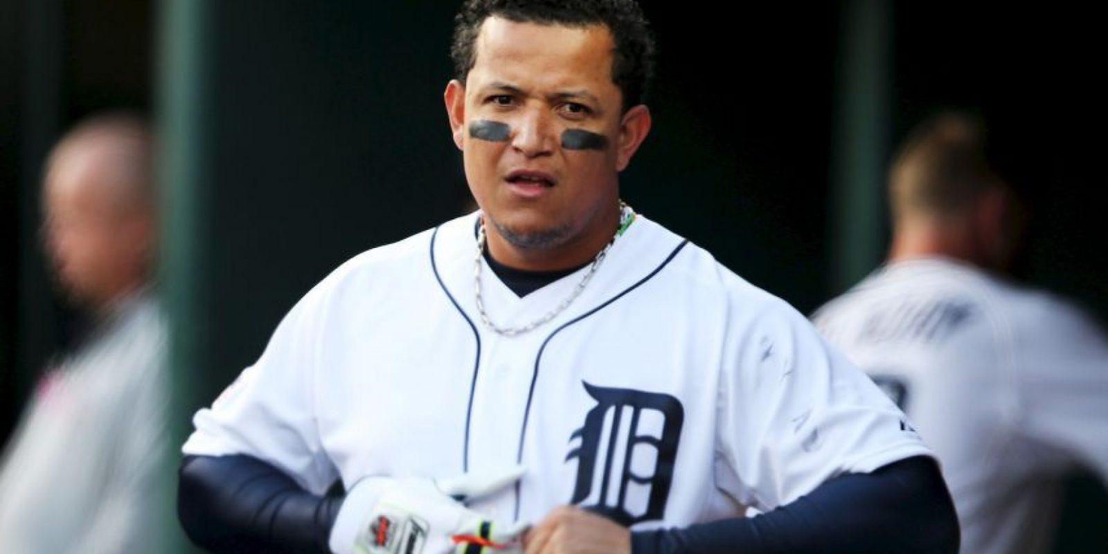 El toletero venezolano firmó en 2014, un contrato de 29.20 millones de dólares por año con los Detroit Tigers. Foto:Getty Images