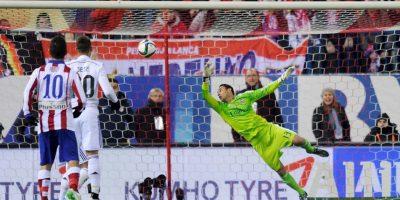 Recibió tres goles e hizo 11 atajadas en total. Foto:Getty Images