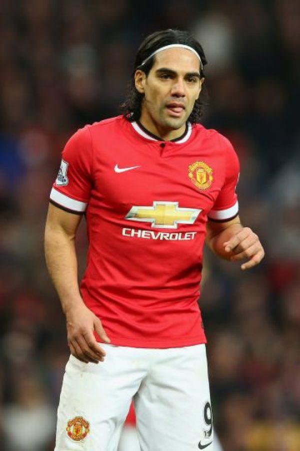 Radamel Falcao llegó a Mancheste United en agosto pasado, procedente del AS Mónaco, pero todo parece indicar que no seguirá en el equipo. Foto:Getty Images