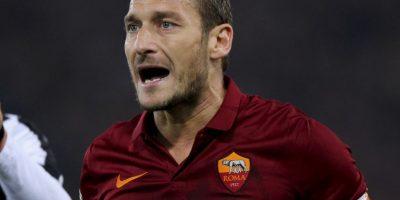 """El ícono de la Roma no ha podido coronar su carrera con los """"giallorossi"""" ganando la Champions League. Sólo ha llegado a cuartos de final, donde fueron eliminados en las temporadas 2006-2007 y 2007-2008. Foto:Getty Images"""