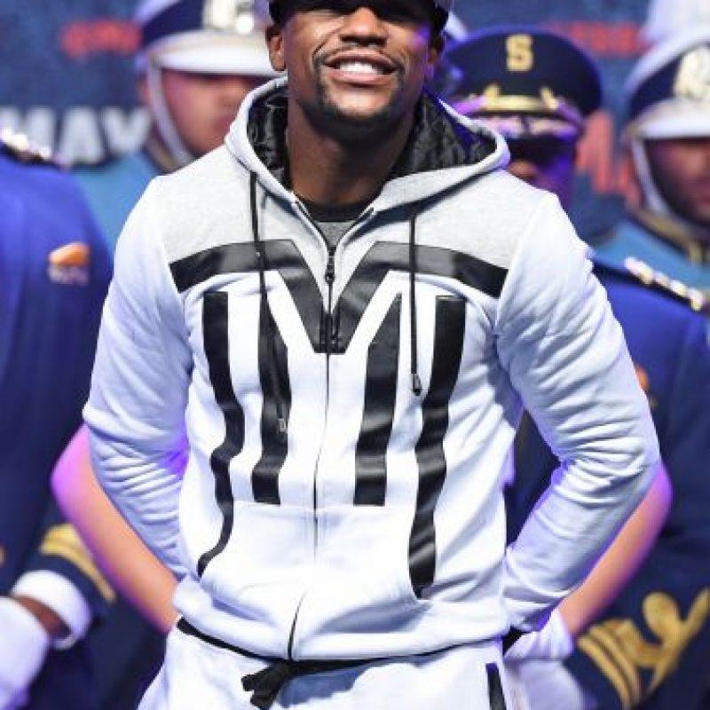 """""""Money"""" firmó en 2013 un contrato con Showtime por el que gana 71.91 millones de dólares anuales. Foto:Getty Images"""
