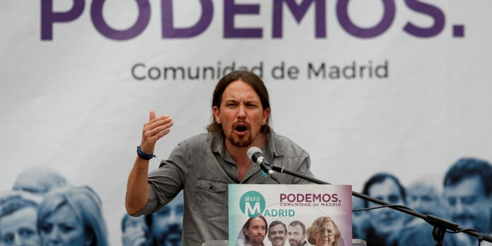 Podemos es el partido con la comunidad más activa Foto:Getty Images