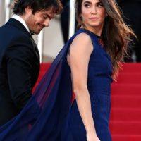 Cannes es el primer evento al que la pareja asiste como esposos. Foto:Getty Images