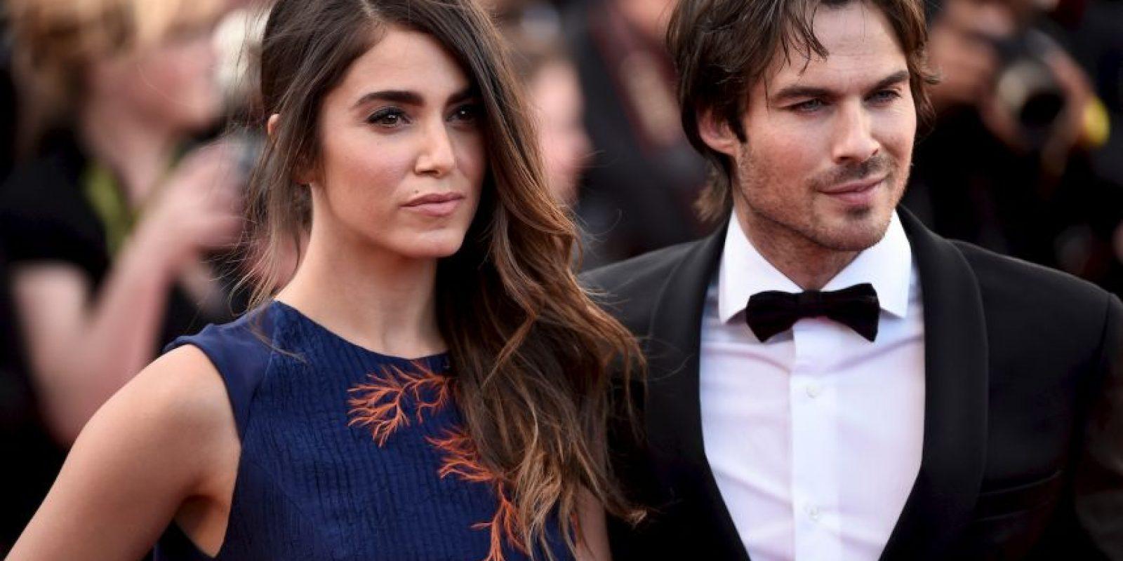 La presencia de la pareja cautivo a los asistentes del Festival de Cine Foto:Getty Images