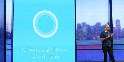 Cortana, la asistente de los telefonos Windows, reconoce el lenguaje natural y utiliza Bing, Yelp y Foursquare como bases de datos Foto: Getty Images