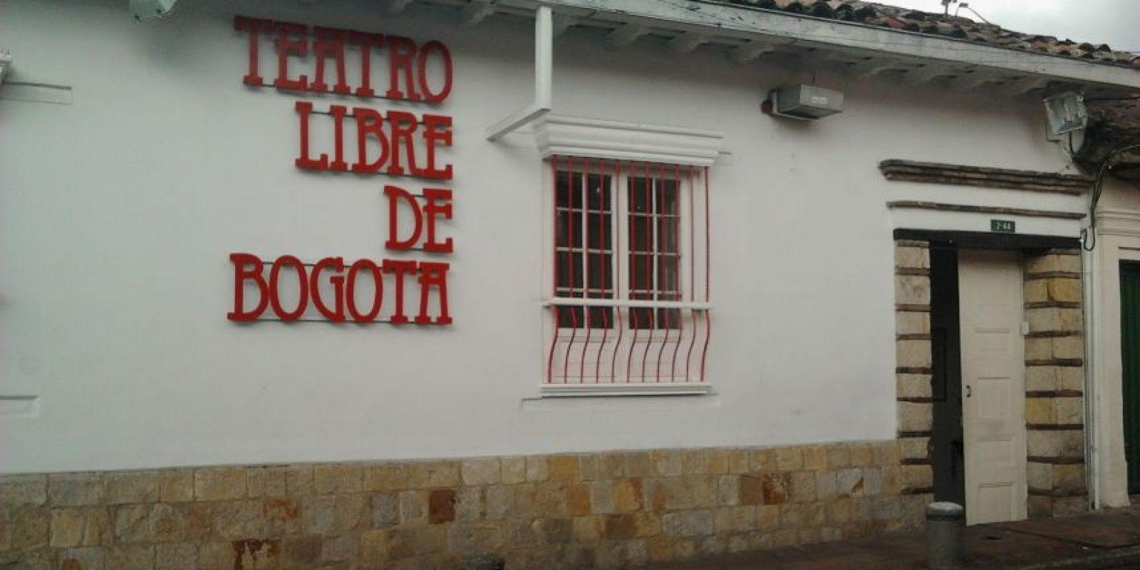 Fachada de la sala del Teatro Libre de la Candelaria Foto:Tomada de civico.com