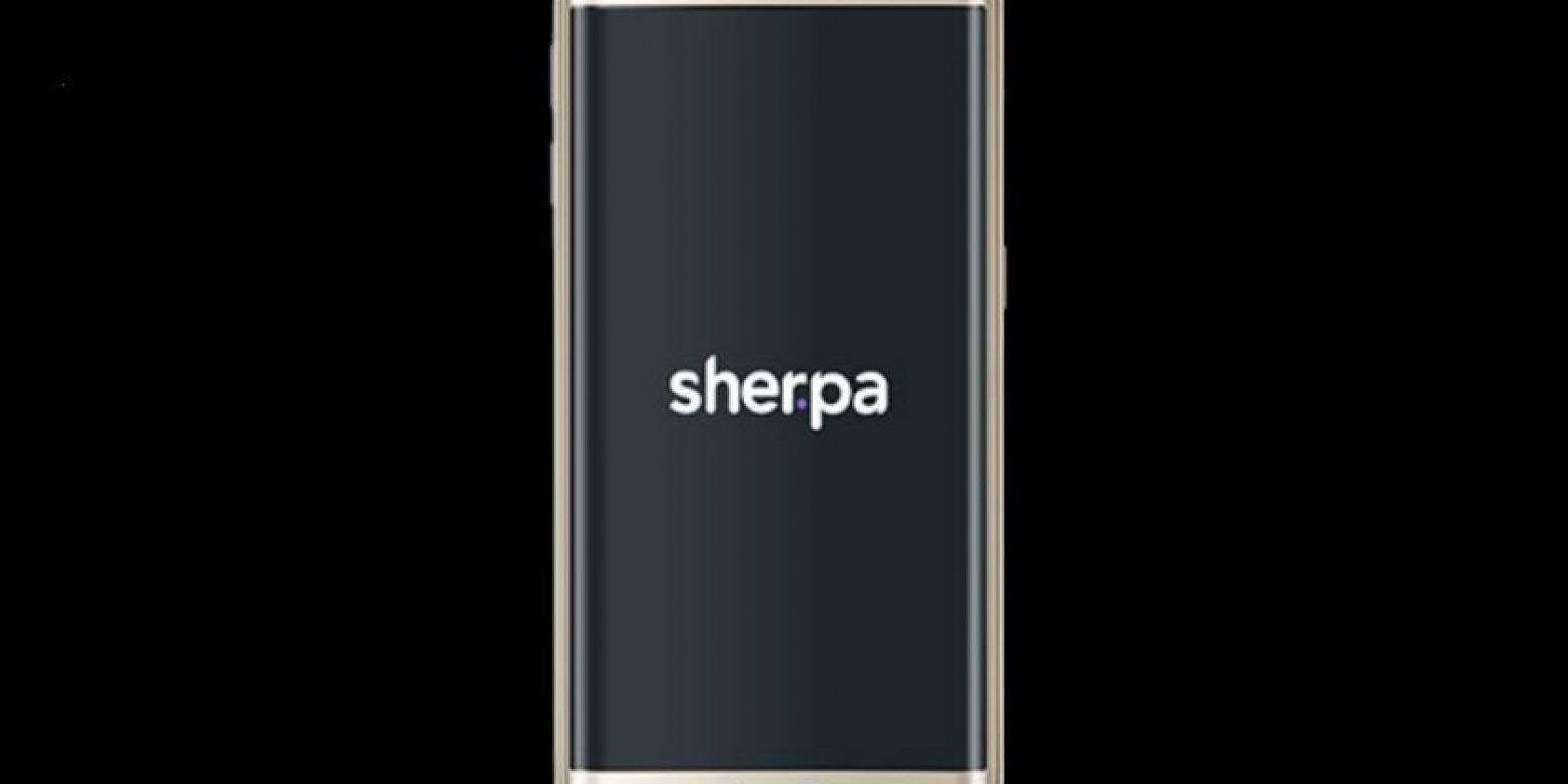 Sherpa Next será un asistente personal que intentará predecir qué quieren encontrar Foto:Samsung