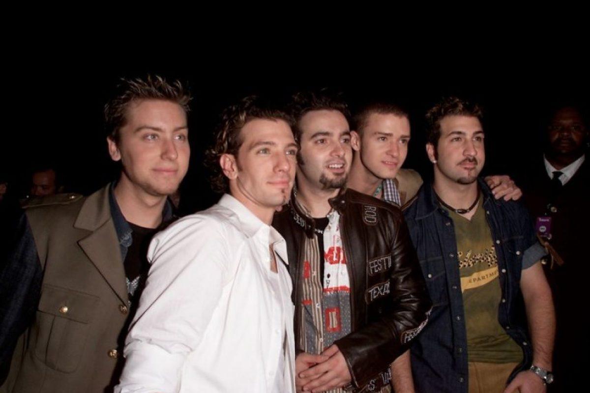 En 2002, Justin Timberlake renunció a continuar su carrera musical junto a Lance Bass, JC Chasez, Joey Fatone y Chris Kirkpatrick en la boyband 'N Sync Foto:Getty Images