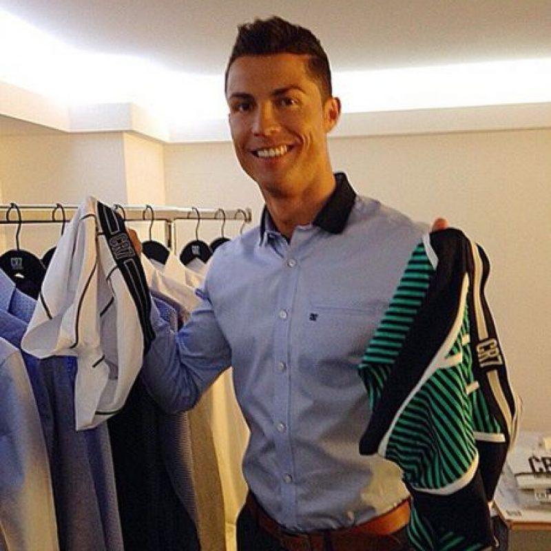 El futbolista del Real Madrid no sabía que ropa debía portar Foto:Vía instagram.com/cristiano
