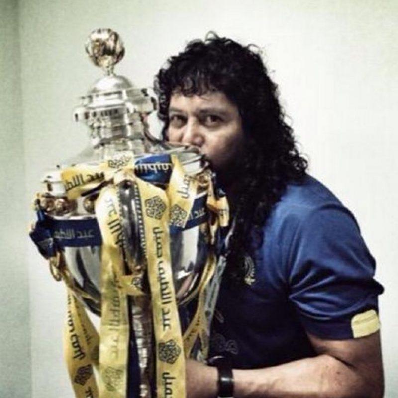 El exportero de la Selección de Colombia es el entrenador de arqueros del Al Nassr de Arabia Saudita Foto:Vía twitter.com/higuitarene