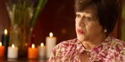 """Vicky Hernández era """"Doña Enelia"""", personaje basado en Hermilda Gaviria. Era la madre de """"Pablo Escobar"""". Foto:vía Caracol Televisión"""