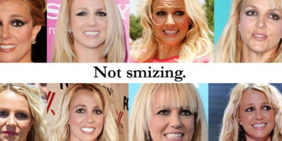 FOTOS: 7 famosas con las sonrisas más falsas que hayan visto en su vida