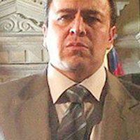 """Toto Vega era """"Alonso Santorini"""", basado en el político Alberto Santofimio, acusado de ser el autor intelectual del asesinato de Luis Carlos Galán. Foto:vía Caracol Televisión"""
