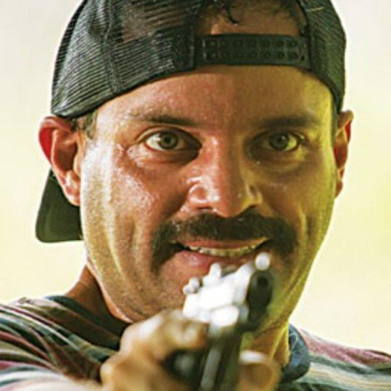 """Carlos Mariño era """"Marino"""", basado en """"Popeye"""", el sicario principal de Pablo Escobar y uno de los más sanguinarios. Foto:vía Caracol Televisión"""