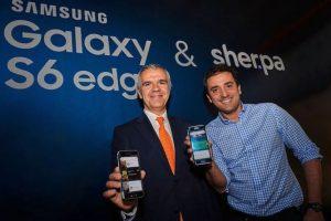 Gracias al acuerdo con Samsung Electronics, el servicio de asistencia tendrá funciones únicas en la versión para el Galaxy S6 Edge empleará su curvatura Foto:Samsung