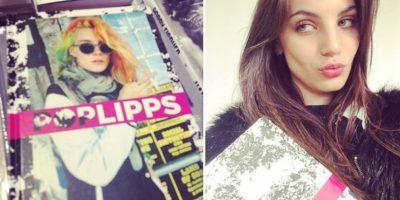 """Afirma que maquilladores y estilistas la ven como el """"clon"""" de la Jolie. Foto:vía Instagram/vickyfournari"""