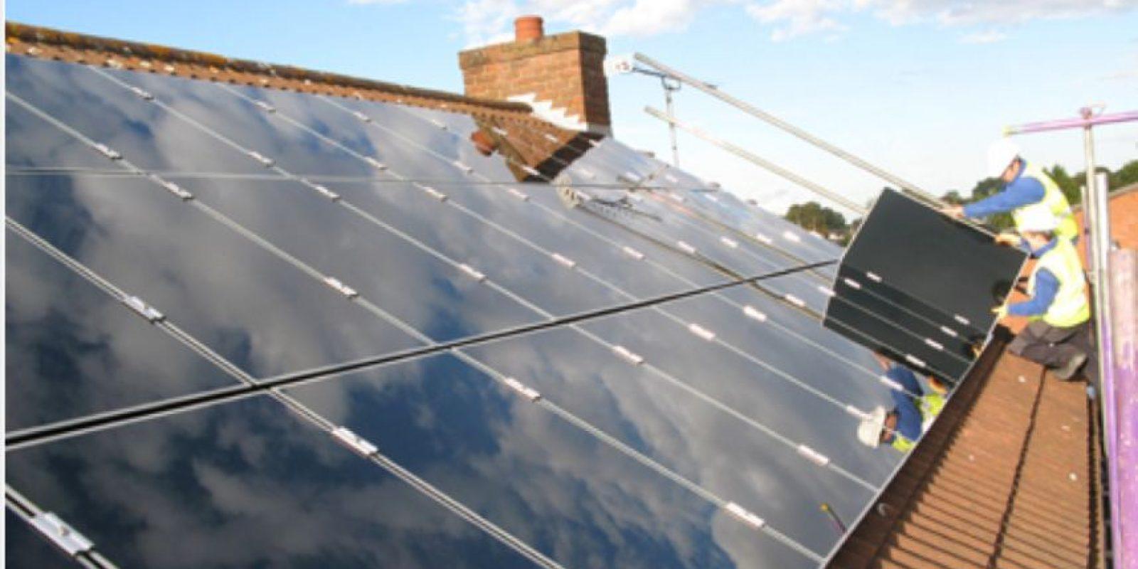 Hanergy Thin Solar, es una compañía dedicada a la producción de paneles solares. Foto:Vía hanergy.com