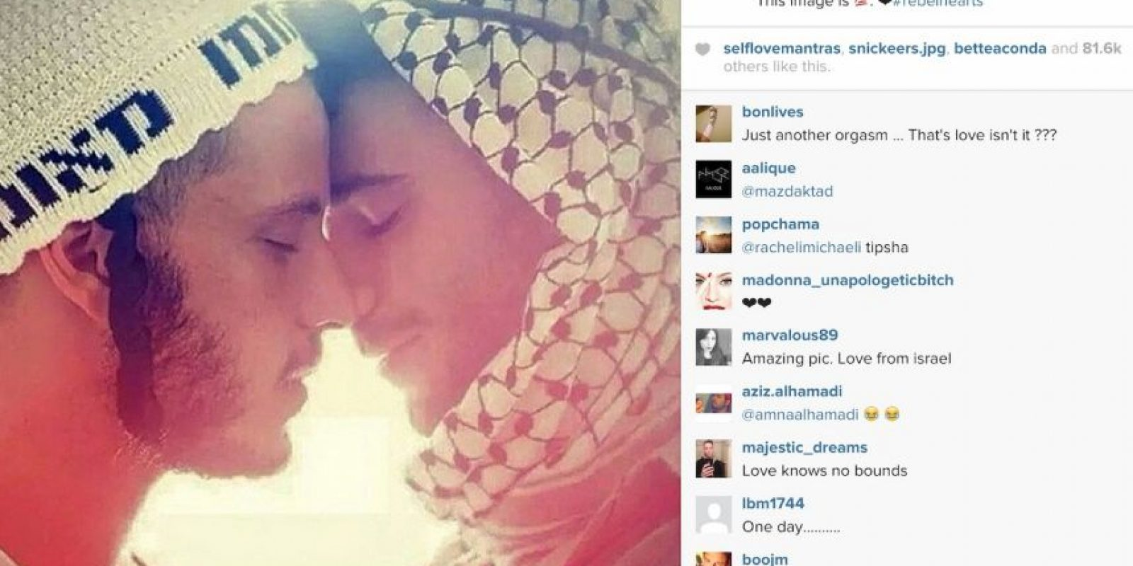 Esta es la foto Foto:Vía instagram.com/madonna/