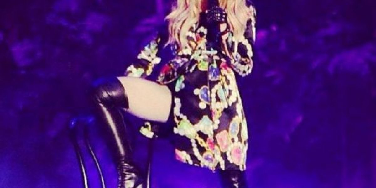 Madonna desató la polémica en Instagram con una fotografía
