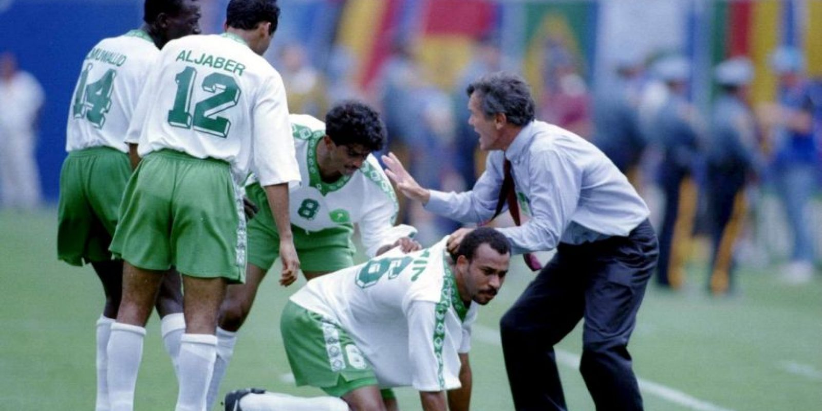 Jorge Solari fue DT de Arabia Saudita en 1994 Foto:Getty Images