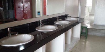 Baños públicos remodelados con dinero de los parafiscales de las boleteria de espectáculos artísticos Foto:PUBLIMETRO