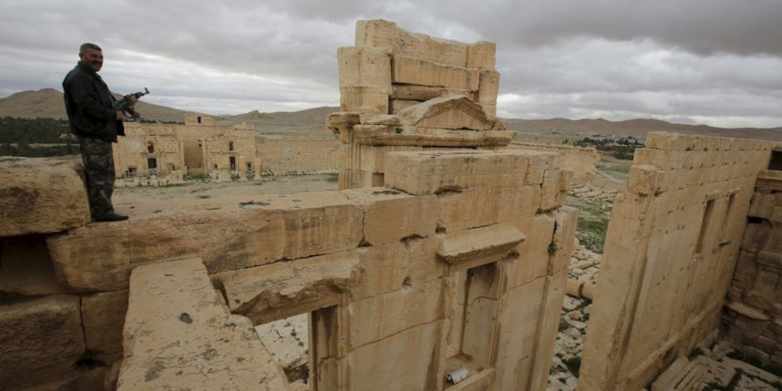 """6. Palmira es conocida como la """"novia del desierto"""". Foto:AFP"""