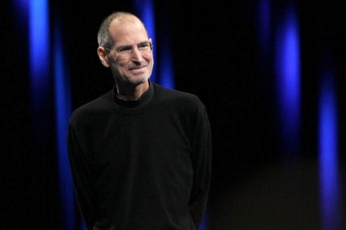 Steve Jobs. Foto:vía Getty Images