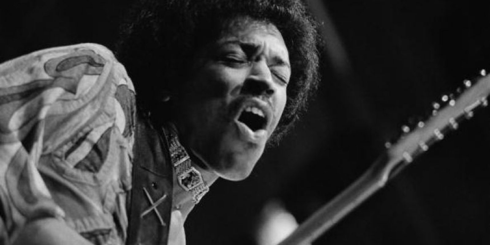 Jimi Hendrixx. Foto:vía Getty Images