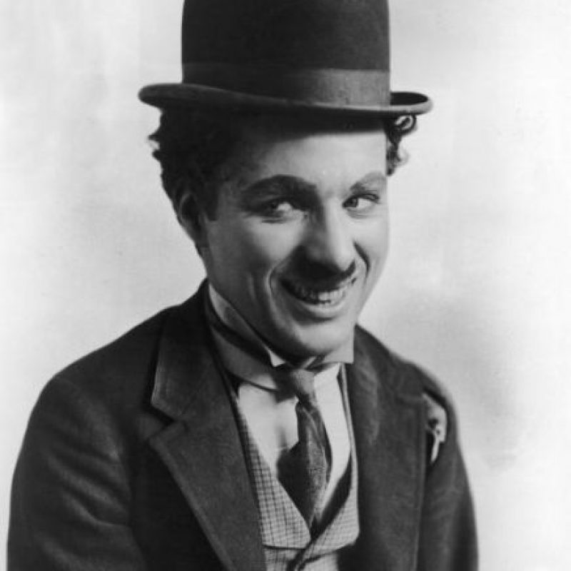 Charles Chaplin. Foto:vía Getty Images