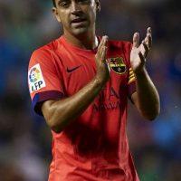 Este 21 de mayo, Xavi Hernández hizo oficial su salida del Barcelona para marcharse al Al Sadd de Qatar. Foto:Getty Images