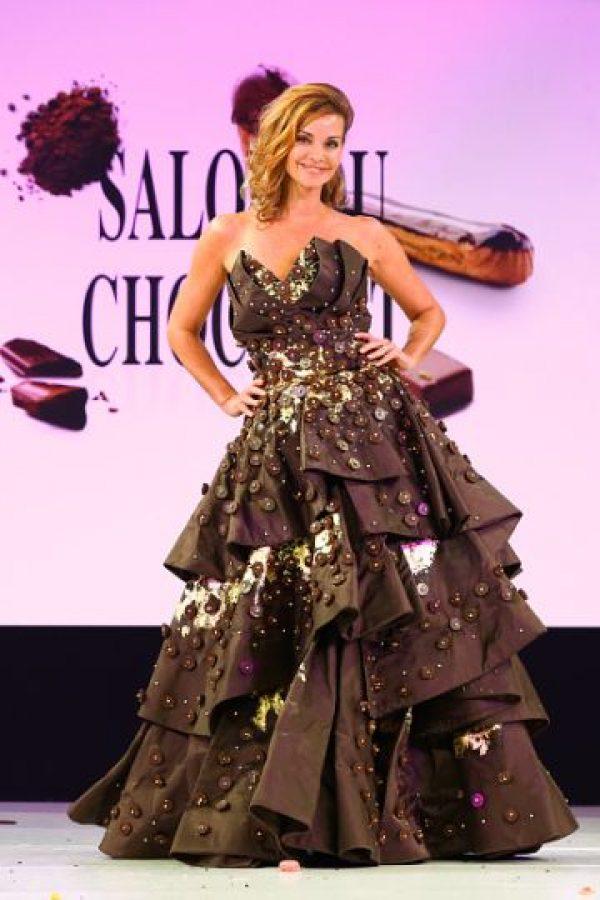 Otro vestido que Willy Wonka soñaría. Foto:vía Getty Images