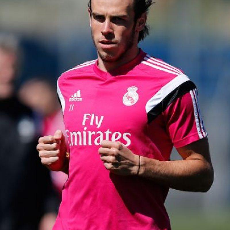 Gareth Bale dejó a un lado las diademas y estrenó peinado en el entrenamiento del Real Madrid. Foto:Getty Images