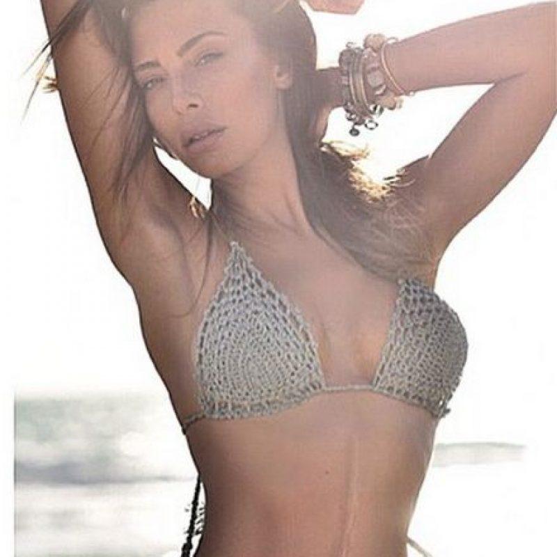 Ella es modelo, vedette y conductora italiana Foto:Vía instagram.com/alessiatedeschi91