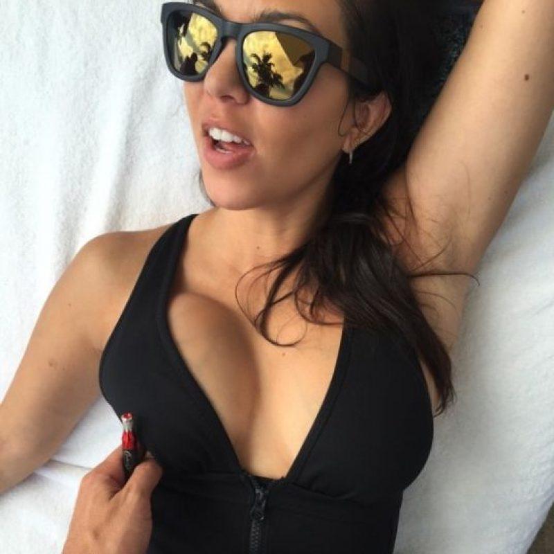 Para celebrar el día de las madres, la mayor de las Kardashian viajó con toda su familia a las playas de Punta Mita. Foto:vía instagram.com/kourtneykardash