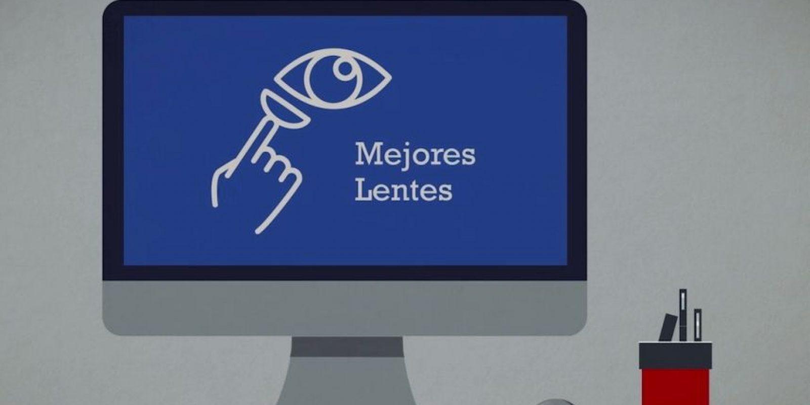 Lo que ofrece Lentesplus. Foto:Lentesplus