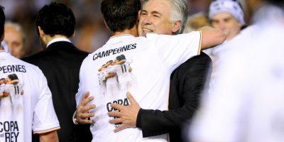 """Sergio Ramos, segundo capitán del Real Madrid también lo apoya: """"Me gustan los entrenadores que son buenas personas pero que también tienen un par de huevos y Ancelotti los tiene"""", declaró el defensa en el pasado mes de abril. Foto:Getty Images"""
