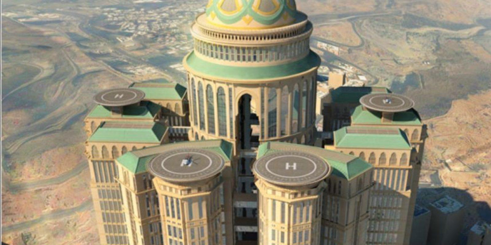 Con 10 mil habitaciones planeadas, el hotel Abraj Kudai será el hotel más grande del mundo. Foto:Vía dar.dargroup.com