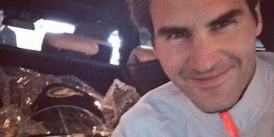3. Roger Federer Foto:Vía instagram.com/rogerfederer