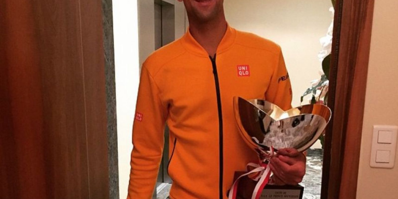 4. Novak Djokovic Foto:Vía instagram.com/djokernole