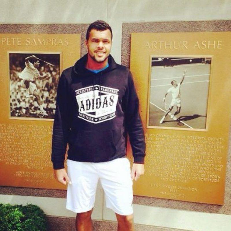 Este francés de 30 años mide 1.88 m y pesa 91 kg. Foto:Vía instagram.com/tsongaofficiel