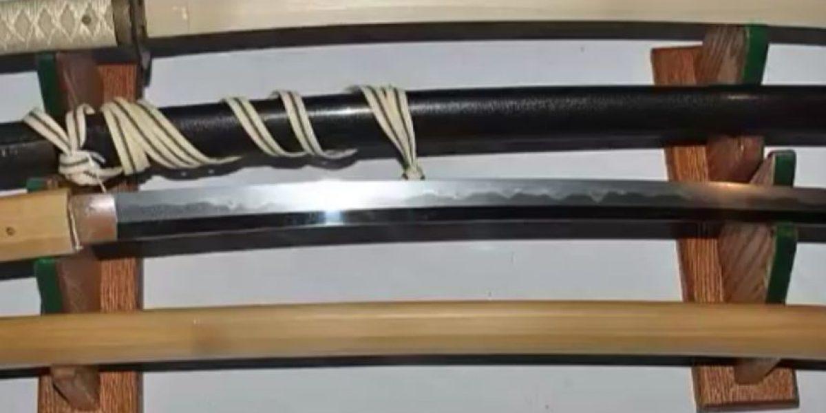 Libre cordobés que atacó a ladrones con espada samurái