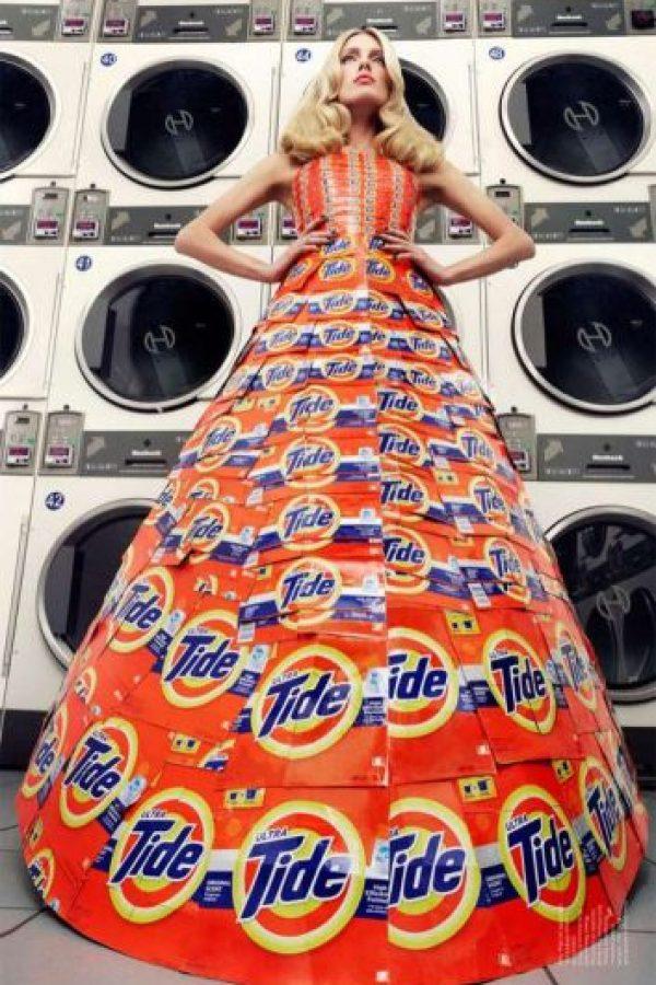 Este hecho con cajas de detergente. Foto:vía Getty Images